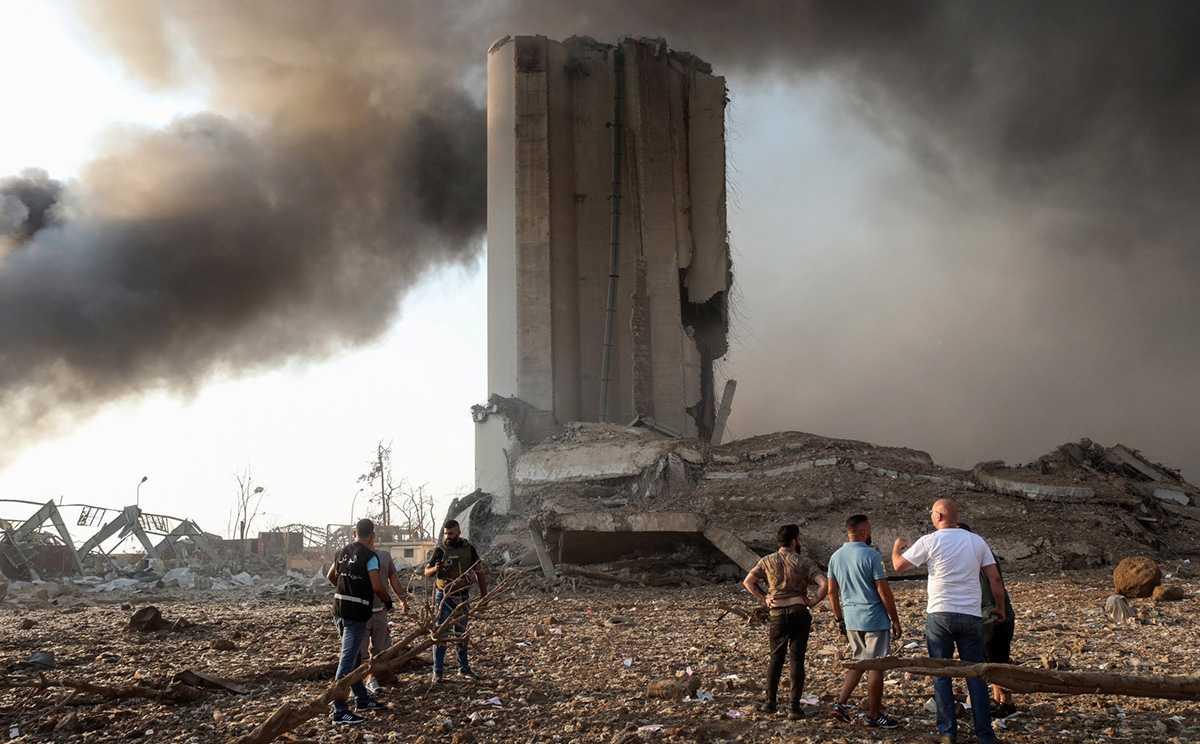 Бейрут, СМИ публикуют информацию об обстановке после взрыва