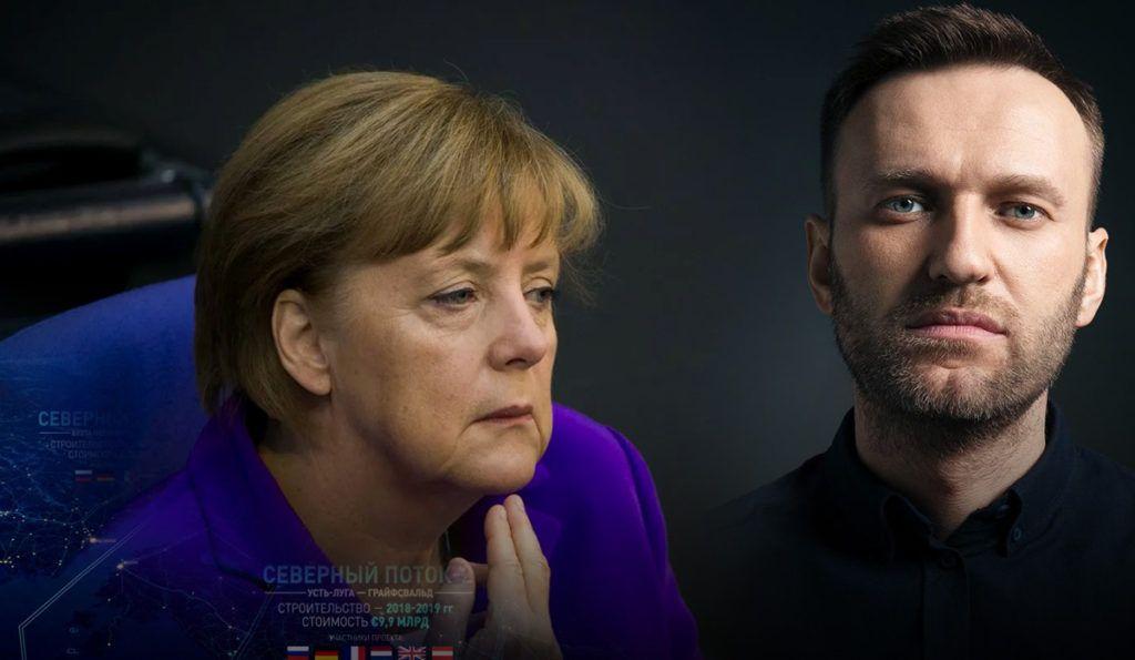 Меркель прокомментировала связь Северного потока-2с делом Навального