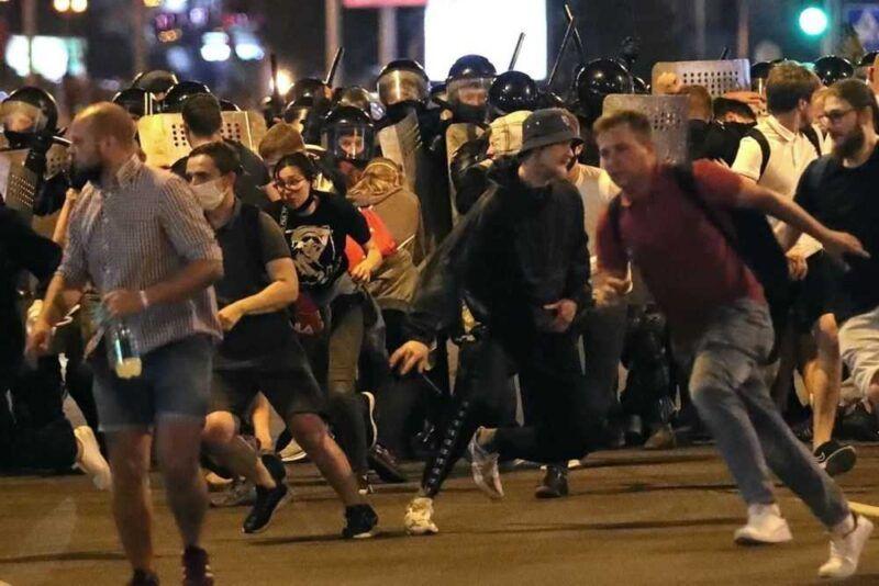 Минские протесты