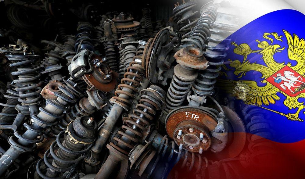 В РФ могут запретить ставить на автомобили бу запчасти