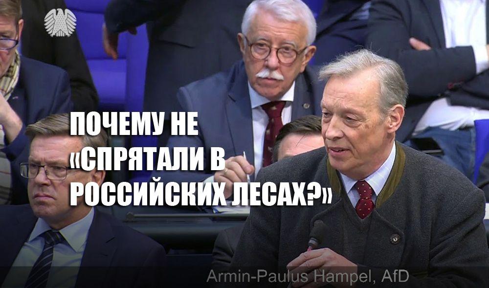 Немецкий политик пояснил, почему обвинения РФ по Навальному абсурдны