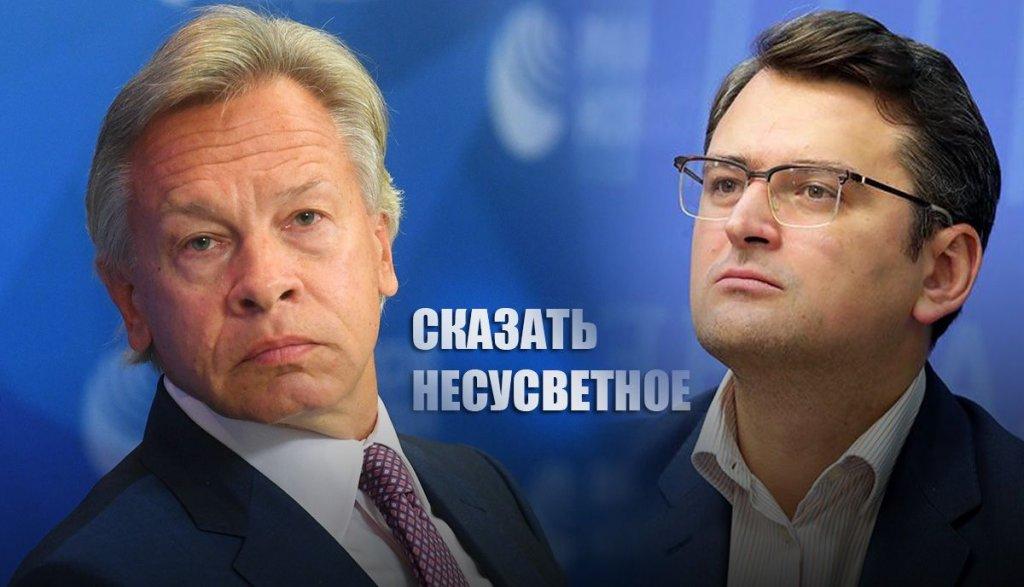 Пушков дал резкий ответ на слова главы МИД Украины о нецивилизованной России