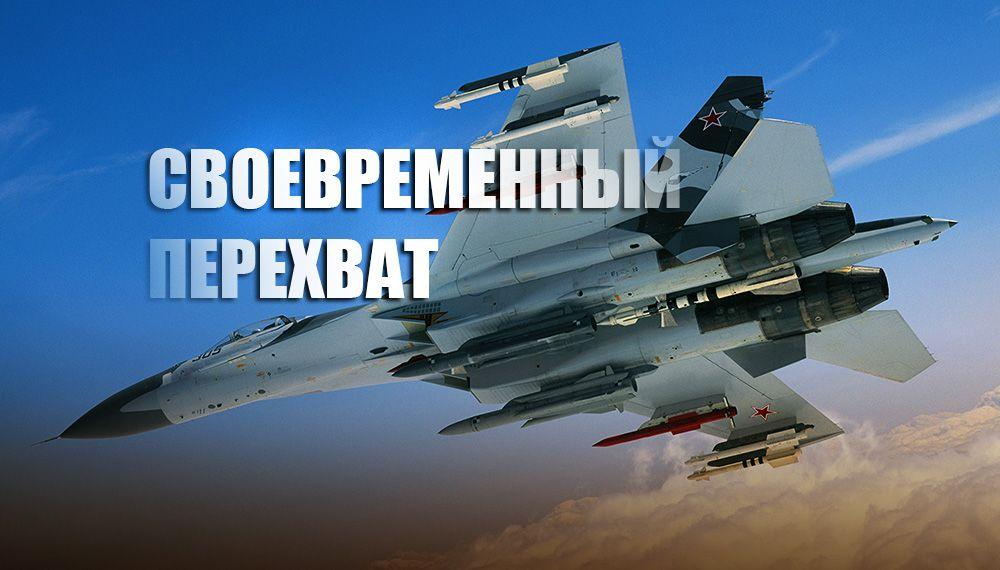 В Sohu рассказали, как российский Су-27 унизил американцев над Балтийским морем