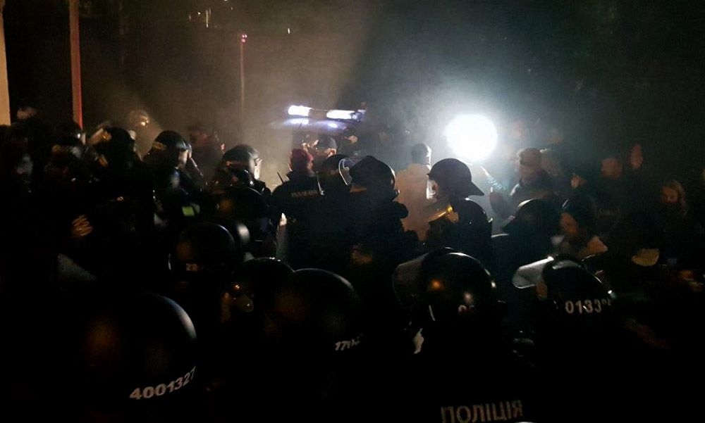 Дело Шеремета к дому Зеленского стянули силовиков из-за протестов в Киеве