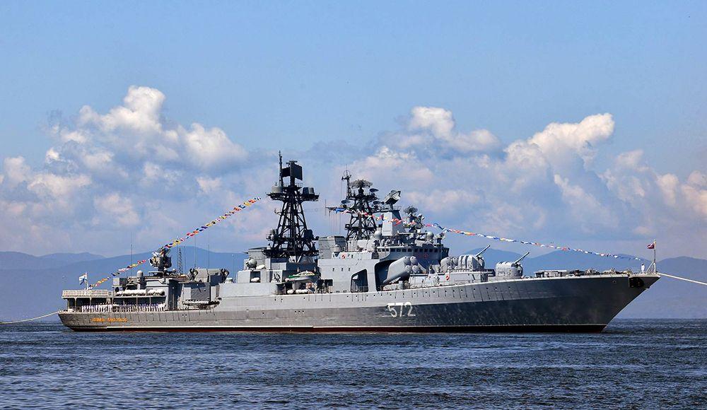 """США считают, что речь не идёт об """"изгнании"""" их эсминца из залива Петра Великого"""