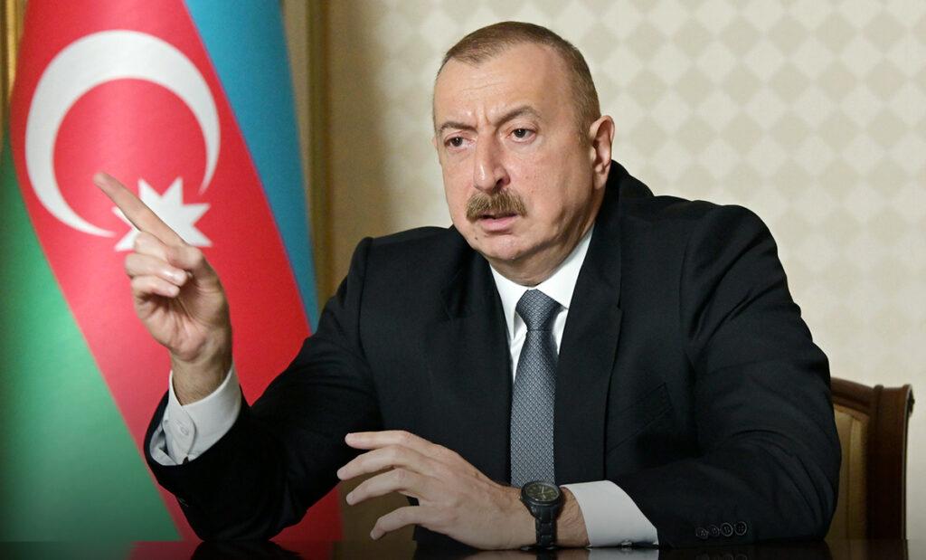 Алиев поставил Армении резкий ультиматум по Карабаху