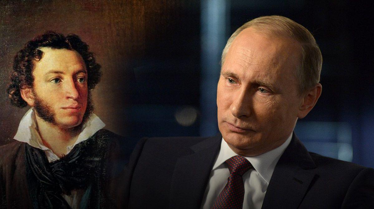 Песков прокомментировал конфликт из-за портретов Путина и Пушкина