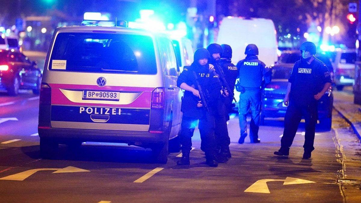 Нападения в Вене