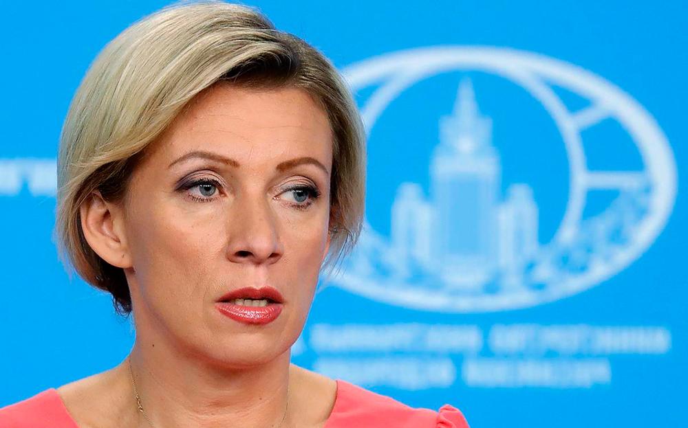 Заявление из преисподней Захарова прокомментировала слова Кулебы о Крыме