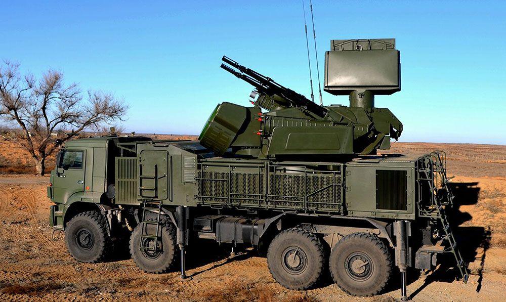 Российский комплекс «Панцирь-С1»