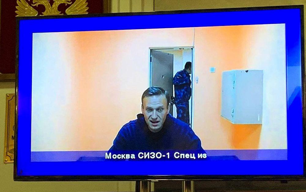 Мособлсуд признал законным арест Навального