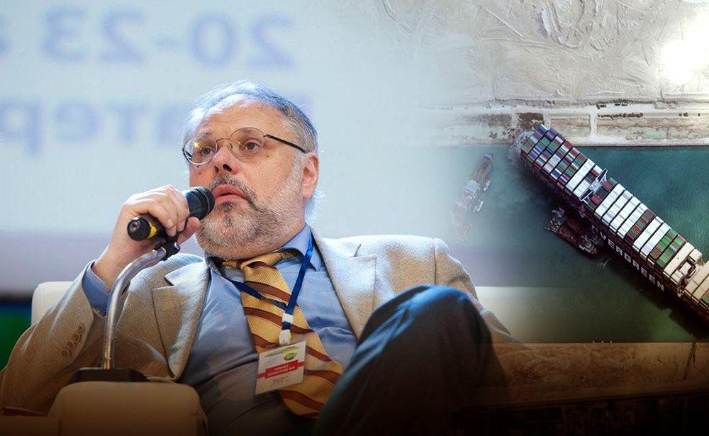 Эксперт пояснил, почему инцидент в Суэцком канале говорит о глобальных изменениях
