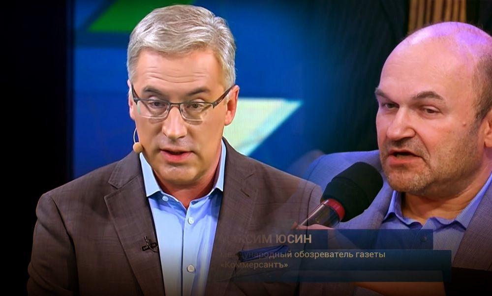 Норкин решительно пресек конфликт из-за сравнения России с собакой