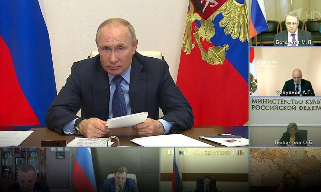 """Путин жёстко пригрозил желающим """"откусить"""" часть России"""