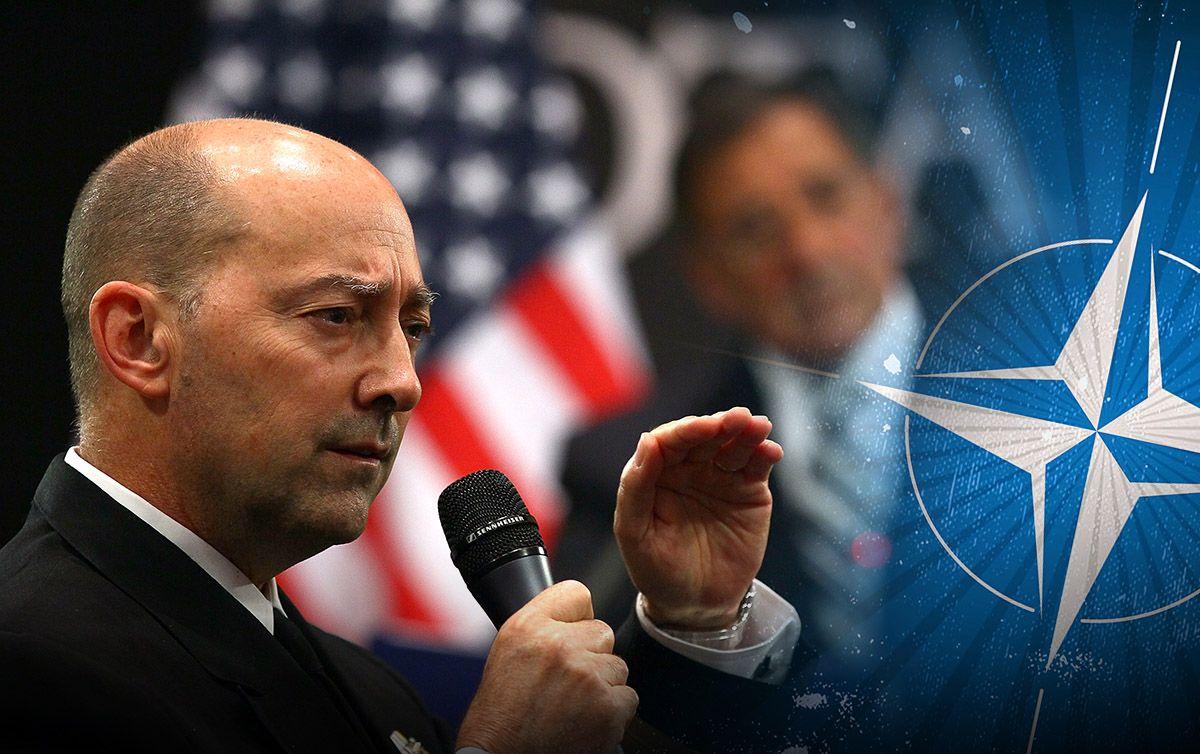 Адмирал ВМС США смоделировал конфликт между Россией и Украиной
