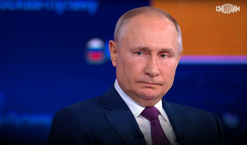 Путин во время прямой линии ответил на вопрос о преемнике