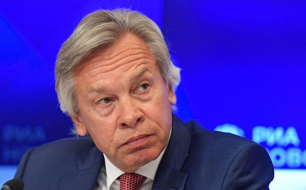 Пушков резко ответил экс-президенту Эстонии на оскорбление