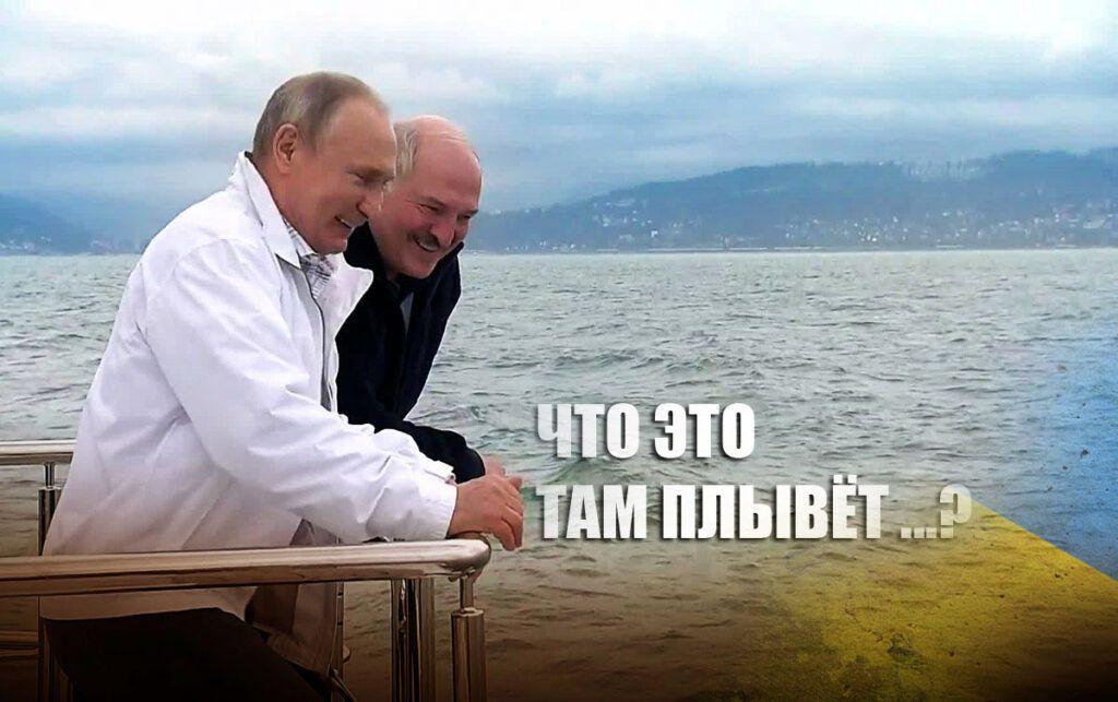 Сеть покорил мем про Зеленского, Путина и Лукашенко в Сочи
