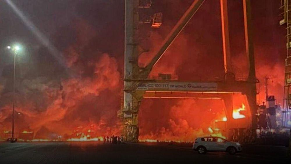 В Дубае прогремел мощный взрыв