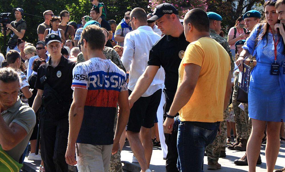 В Одессе сотрудниками полиции был задержан гражданин США