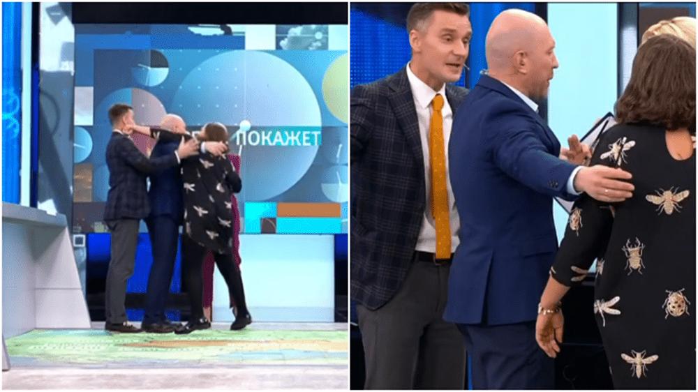 Россияне встали на сторону Монтян, которая ударила поляка Корейбу в эфире «Время покажет»