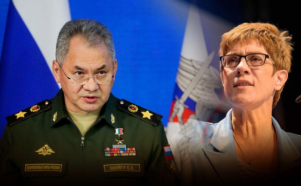 Шойгу ответил на заявления министра обороны ФРГ о сдерживании России ядерной силой