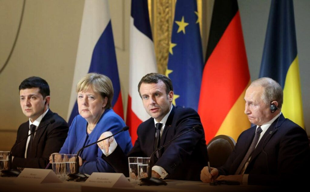 """""""Прорыв"""" по Донбассу в диалоге Меркель, Макрона, Путина и Зеленского взволновал россиян"""