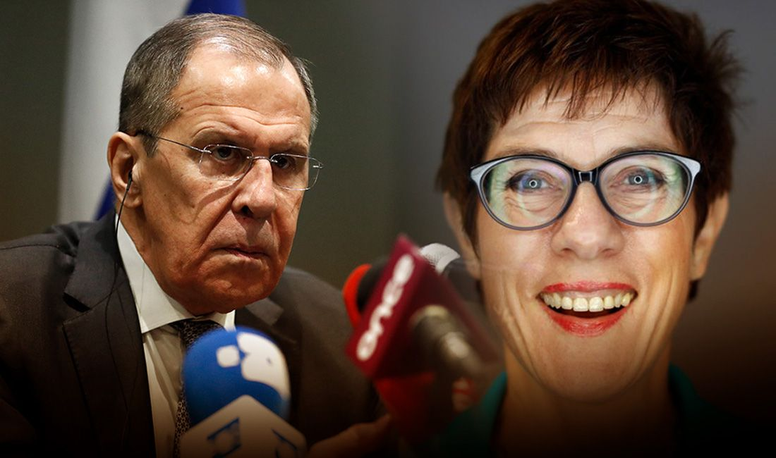 Лавров ответил на угрозы Минобороны ФРГ в адрес России