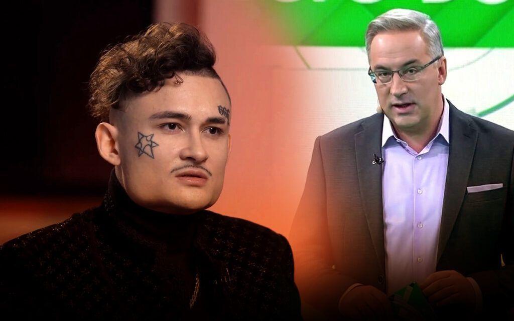 Норкин покорил гостей телестудии шуткой о песнях Моргенштерна и Бузовой