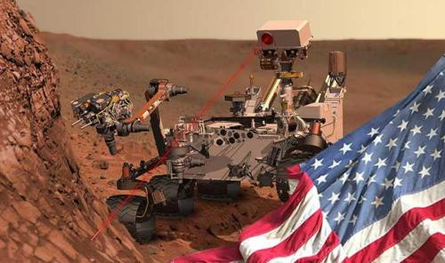 Американцы обнаружили признаки жизни на Марсе