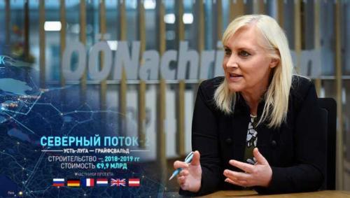 Австрийский депутат Ангелика Винциг считает, что антироссийские санкции бесполезны  против Северного потока-2