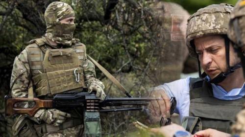Киев отведет войска в Донбассе при условии