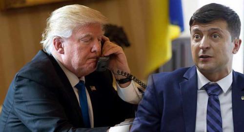 Обмен любезностями. Зеленский поговорил с Трампом