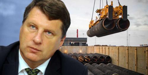 Президент Латвии Вейонис против Северного потока-2