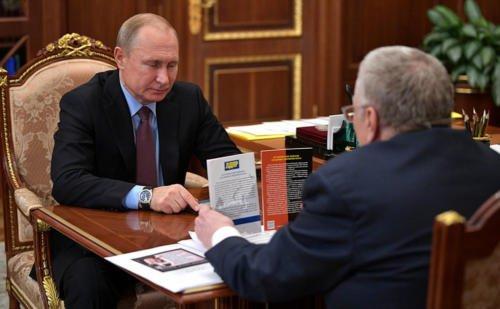 Путин отметил роль ЛДПР в развитии государства
