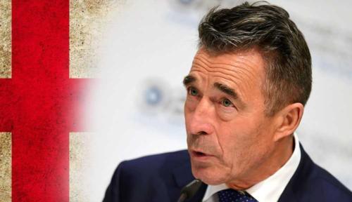 Расмуссен предложил Грузии присоединиться к НАТО без её отдельных территорий
