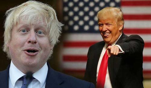 Трамп увидел в Борисе Джонсоне свои черты
