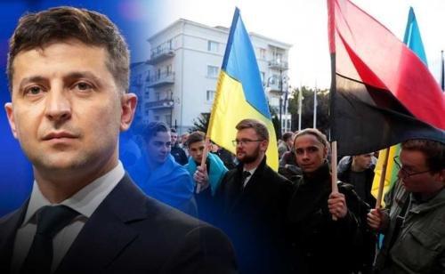 В Киеве прошла акция против формулы Штайнмайера